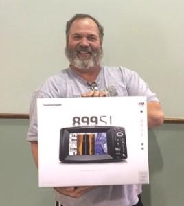 Lowrance winner, Bob Foxworthy