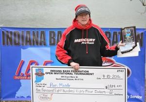 Angler Winner Ron Moody